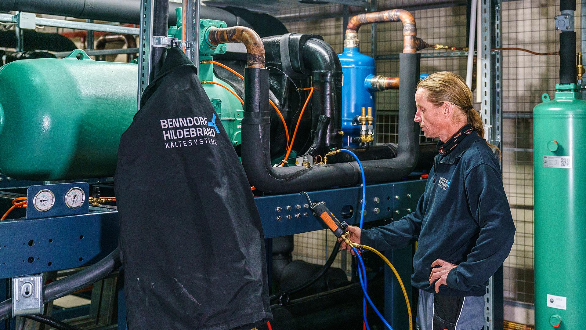 Wartung und Service, Klimatechnik & Servicemitarbeiter